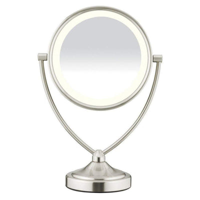 Natural Double-Sided Lighted Makeup Mirror