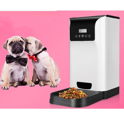 Intelligent Pet Food Dispenser, 6L
