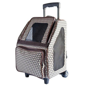 Pet Stroller With Detachable Roller Wheels