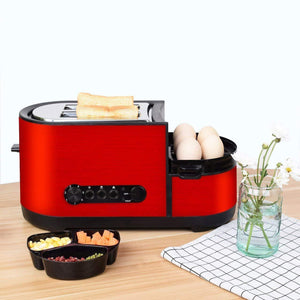 Multifunctional 2-Slice Wide Slot Toaster