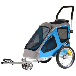 Pet Stroller With Thick And Washable Inner Pad