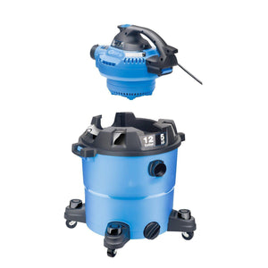 Wet/Dry Vacuum with Detachable Blower