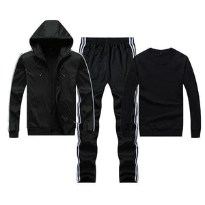 Warm Windproof Breathable Punk Men's Tracksuit