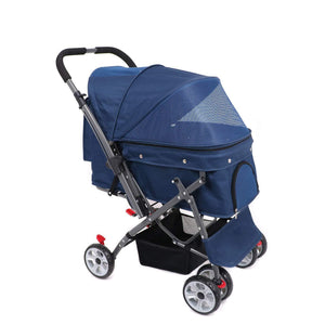 Soft And Waterproof Pet Stroller,4 Wheel