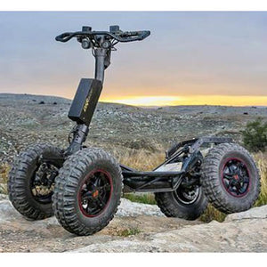 Four-wheeled mountain buggy
