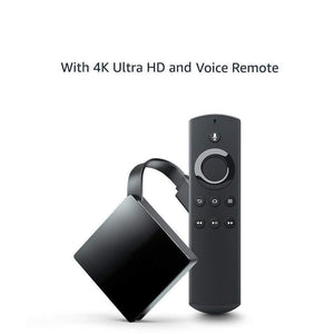 Streaming Media Player with Voice Remote