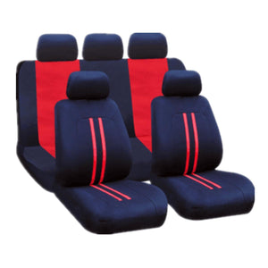Polyester Fabric Car and Back Seat Cover