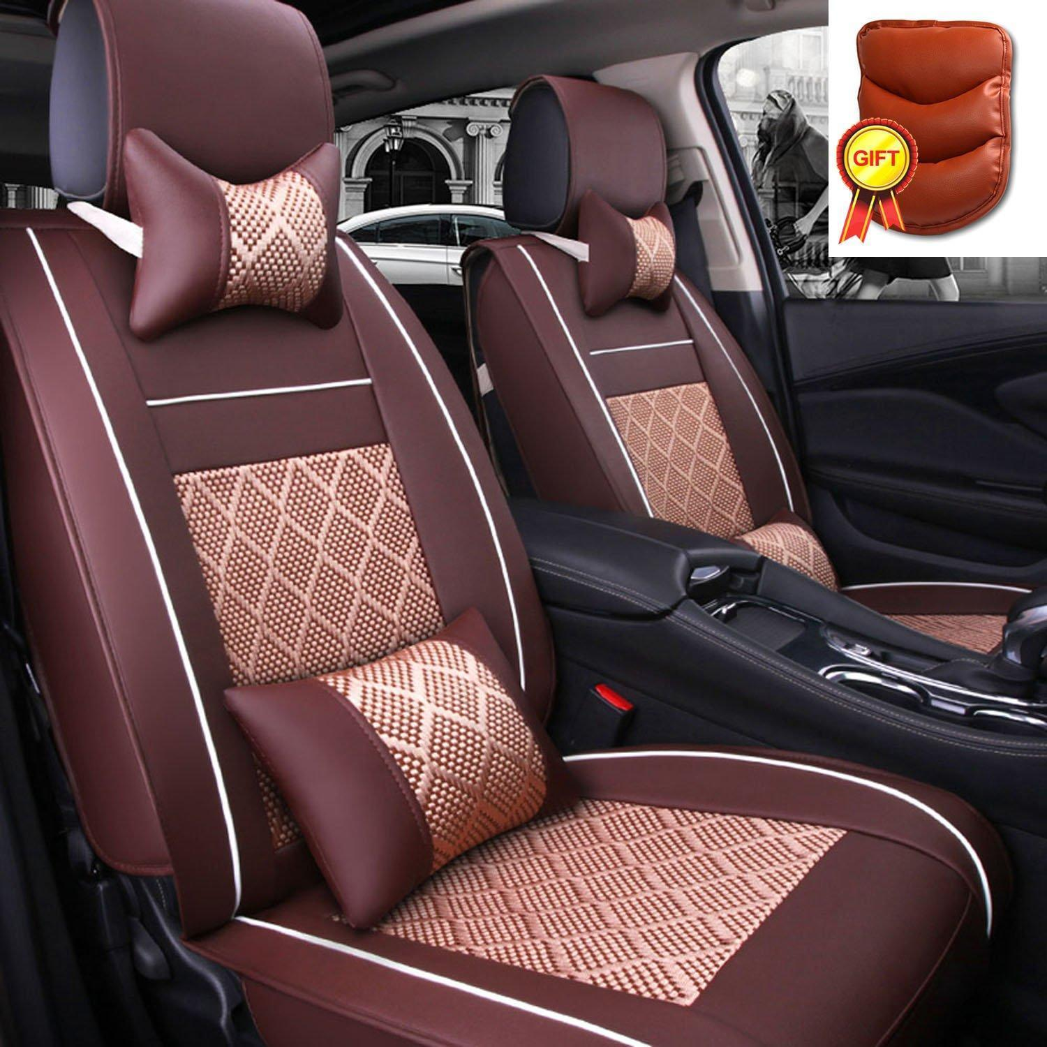 Auto Seat Cushion Compatible 5 Seats for Summer