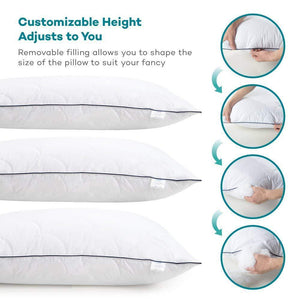 Super Soft Plush Fiber Fill Pillows