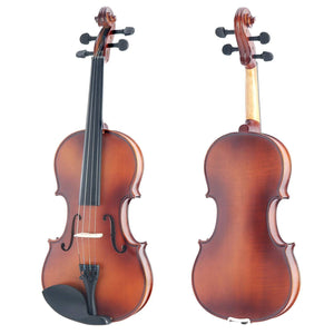 Solid Solid Maple Violin With Tuner