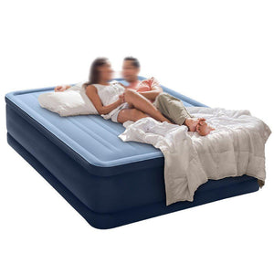 Robust Comfort Airbed with Built-In Electric Pump