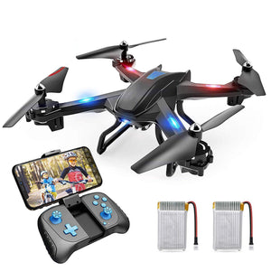 Wide-Angle Live Video Quadcopter with Altitude Hold