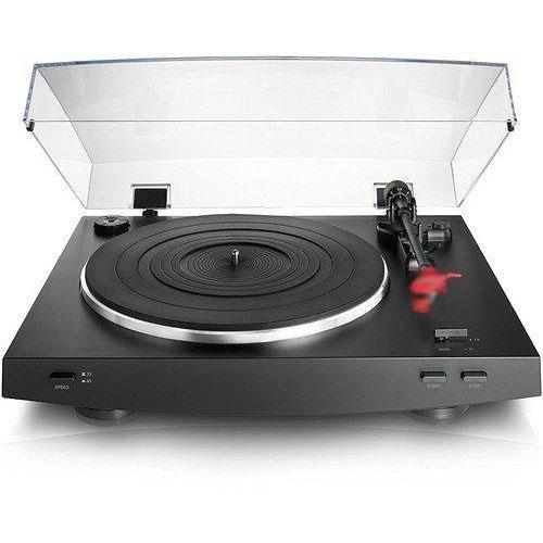Dual Moving Magnet Stereo Turntable,Black