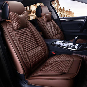 PU Leather Car and Back Seat Cover