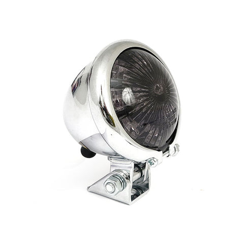 BATES STYLE LED TAILLIGHT - Chrome / Smoke