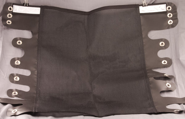 Burley Seat mesh Replacement Black