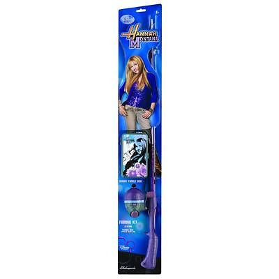 New Shakespeare Hannah Montana Fishing Rod and Reel Kit w Tackle Box Hanna50kit