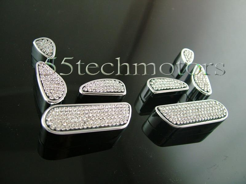 Mercedes Benz W220 S-Class Crystal Seat adjust Covers - 55tech Motors