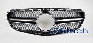 W212 2014~2015 E class E63 AMG Style Grille ( For Sport model only) - 55tech Motors