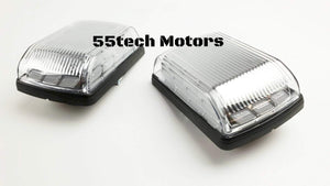W463 Corner Signal lights Marquee Chrome or Black - 55tech Motors