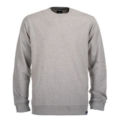 DICKIES WASHINGTON CREW NECK GREY MELANGE - Skateboards Amsterdam