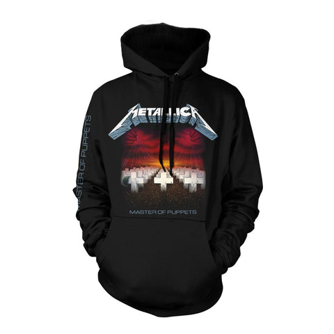 METALLICA MASTER OF PUPPETS TRACKS HOODED SWEATER BLACK