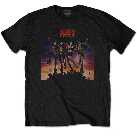 KISS DESTROYER T-SHIRT BLACK