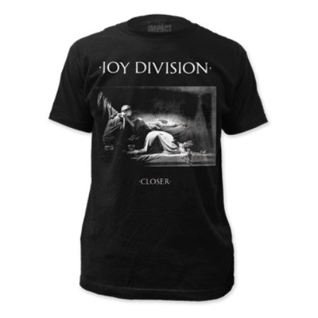 JOY DIVISION CLOSER FITTED T-SHIRT BLACK - Skateboards Amsterdam - 1