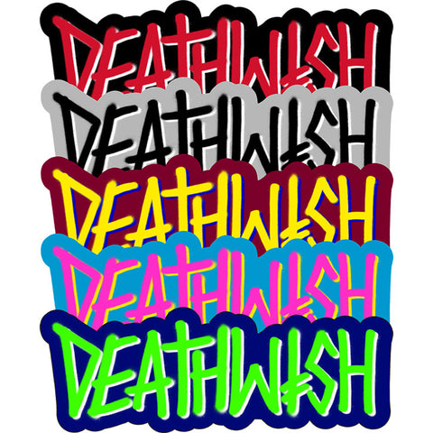 DEATHWISH DEATHSPRAY STICKER - Skateboards Amsterdam