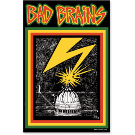 BAD BRAINS CAPITOL PATCH - Skateboards Amsterdam