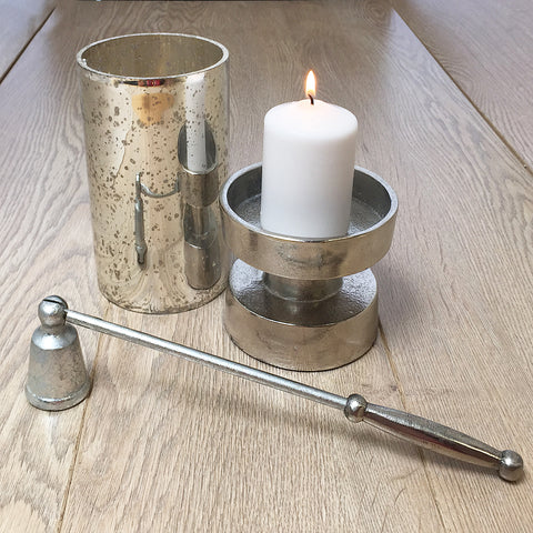 Silver Artisan Candle Snuffer - SOLO PRODUCT SPECIAL SALE PRICE (min 2)