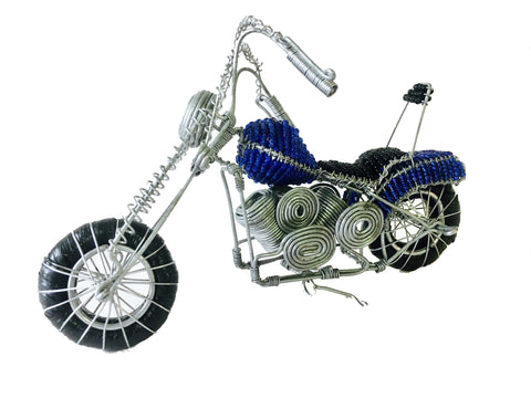 Wire & Bead Motorbikes Small 18 cm (min 2) *In Stock From April 2018*