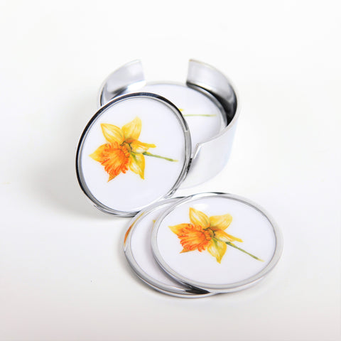 Daffodil Coasters Set of 6 (min 4)
