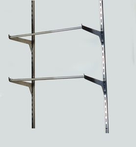 Standard wall racks to use with Monaco hangup bag pharmacy willcall