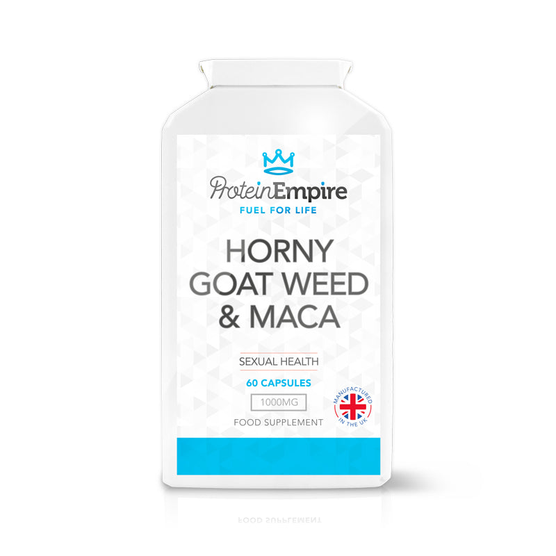 HORNY GOAT WEED & MACA 60 CAPSULES 1 MONTH SUPPLY