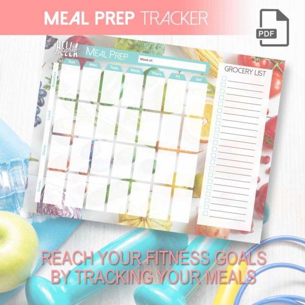Meal Prep Tracker – Printable