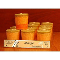 Aloha Bay Candle Votive Essential Oil Mango - 12 Candles - Case of 12