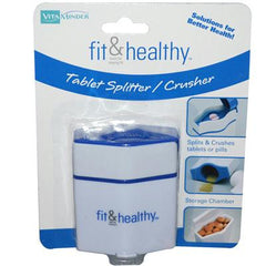 Fit and Healthy VitaMinder Tablet Splitter Crusher - 1 Unit