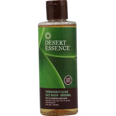 Desert Essence Thoroughly Clean Face Wash - Original - 4 fl oz