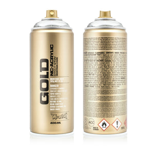 Montana GOLD Spray Color, Silverchrome - 400ml Spray Can