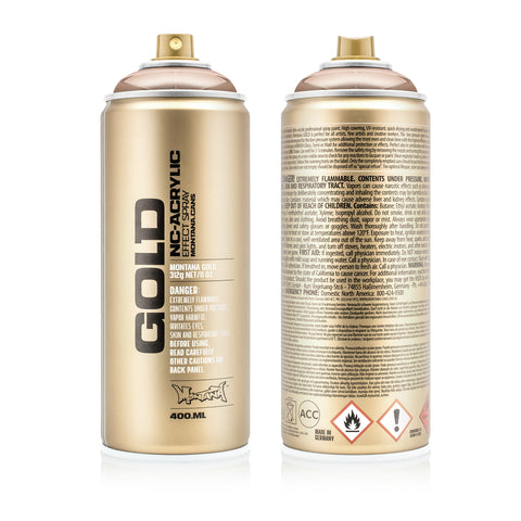 Montana GOLD Spray Color, Copperchrome - 400ml Spray Can