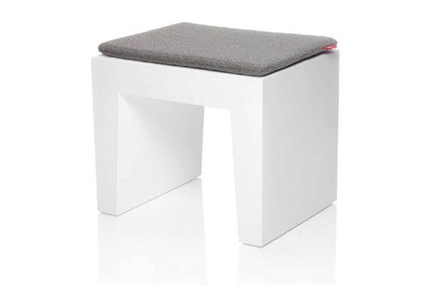 Concrete Seat - Grey Pillow
