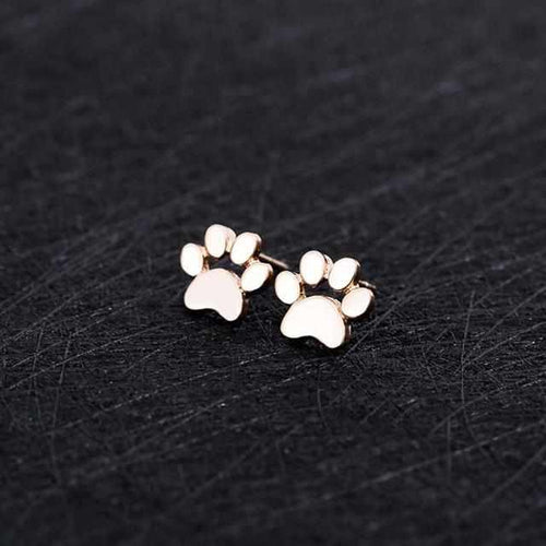 Cute Dog Paw Earrings - DogWoofers, DogWoofer, Dog Woofer, Dog Woofers, Dog Jewelry