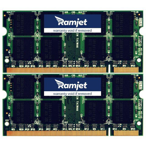 DDR2-667-SODIMM - 6GB MacBook Pro Memory For Models 3,1 To 4,1 Early 2007 - Mid 2008 (4GB+2GB)