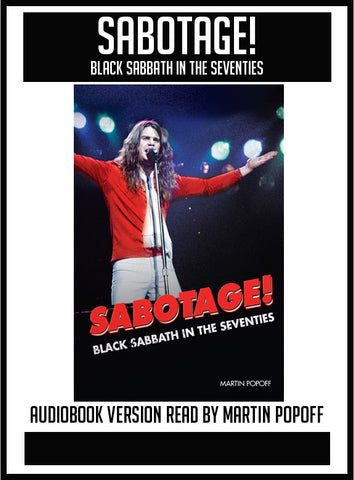 Martin Popoff – Sabotage! Black Sabbath in the Seventies  – Audiobook