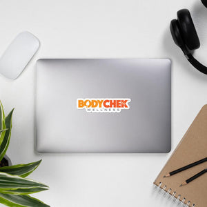 BodyChek Wellness Bubble-free stickers