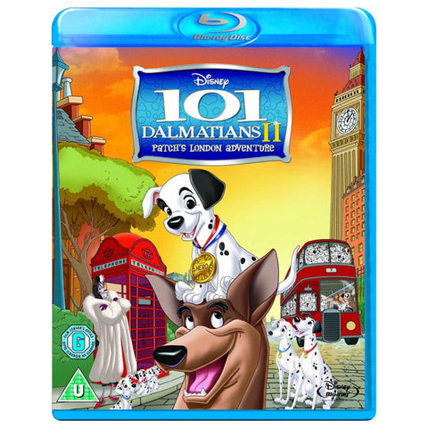 101 Dalmatians II Patch's London Adventure blu-ray front cover