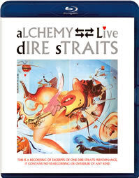 ALCHEMY: DIRE STRAITS LIVE blu-ray front cover