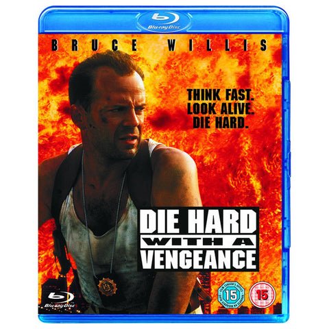 DIE HARD WITH A VENGEANCE blu-ray front cover