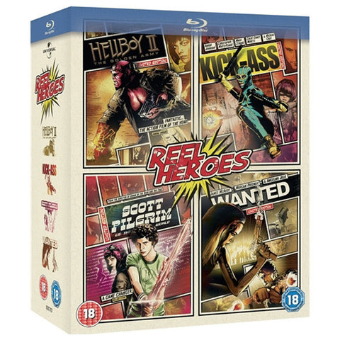 REEL HEROES BOX SET blu-ray front cover